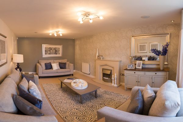 Get the show home look david wilson homes sales manager for The design home