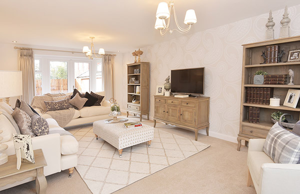 Show Home Interior Design At The Spinney Inspired By