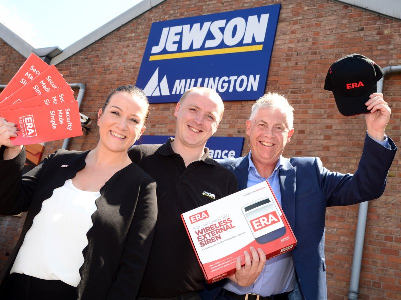 ERA and Jewson join forces in Leicester