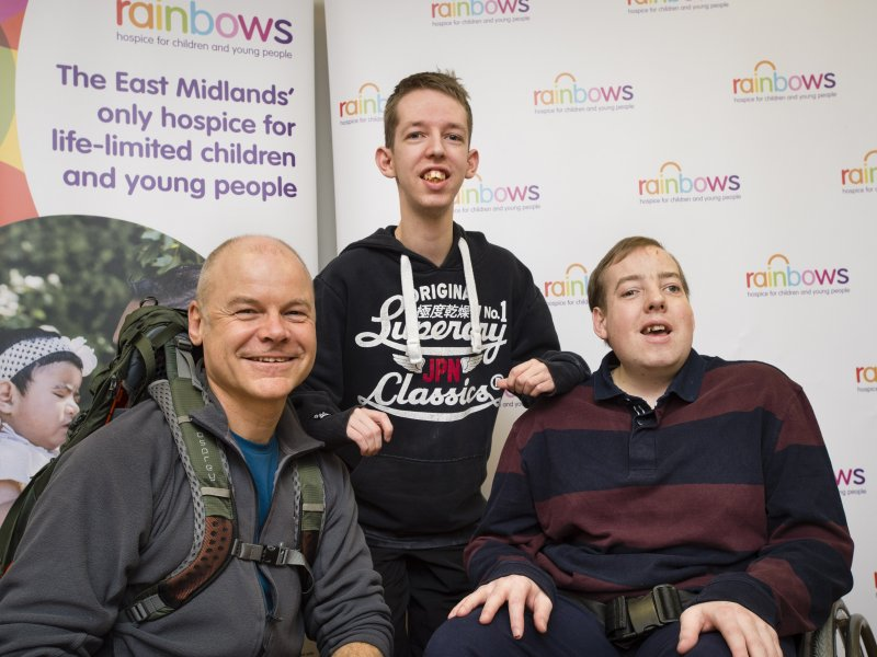 Lawyer set for 630-mile hike to support hospice youngsters