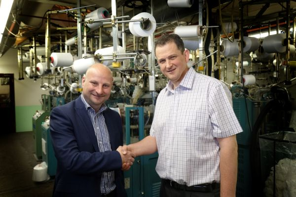 Lutterworth Hosiery Manufacturer Invests 300k In New Machinery To Help Keep Up With Demand Love Business East Midlands