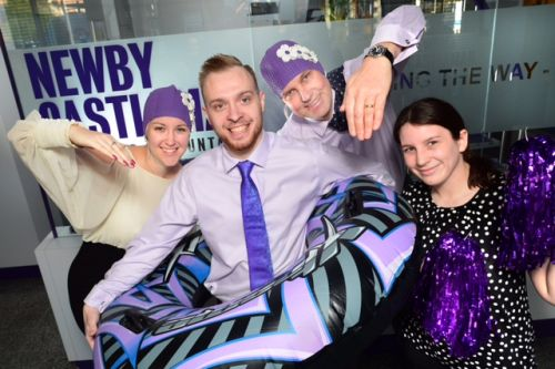 Newby Castleman Go To Great Lengths As Sponsors Of Swimarathon Love Business East Midlands