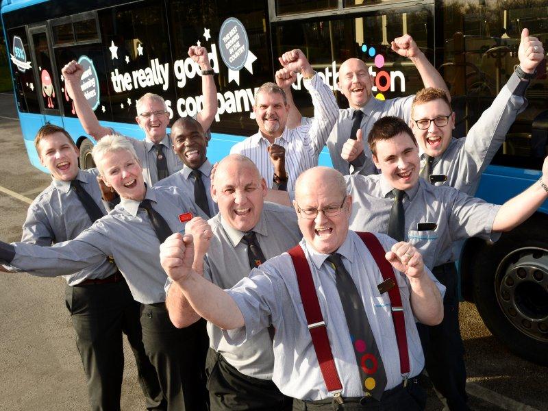Customers rank trentbarton drivers #1 again