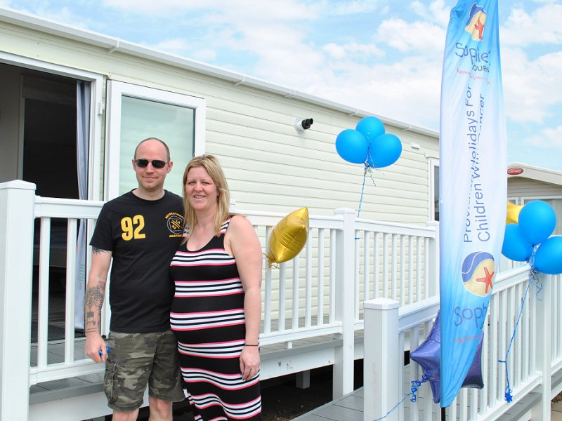 New Caravan Offers Respite for Children with Cancer