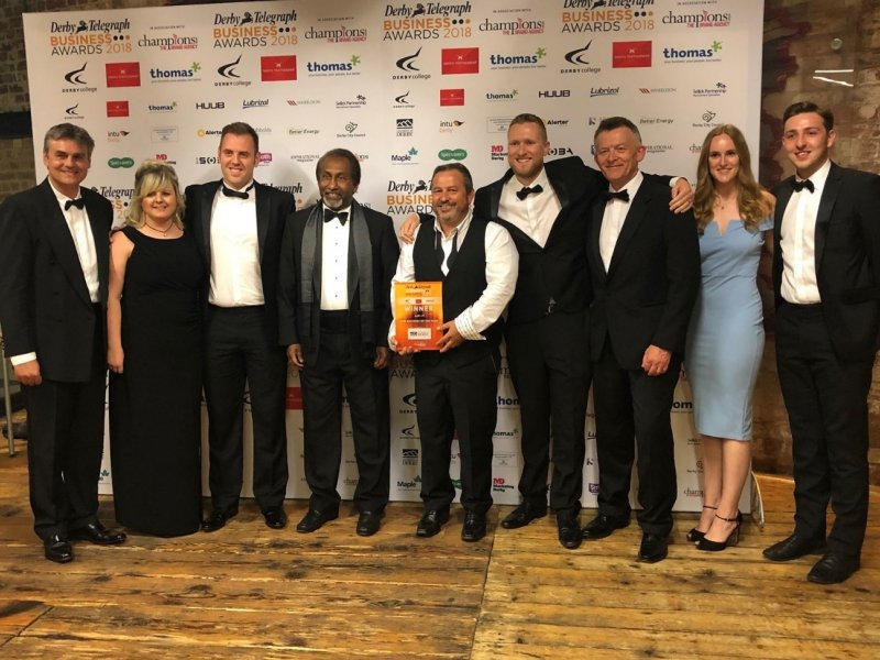 Double award joy for East Midlands ICT firm