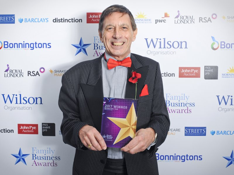 The Wilkins Groups Celebrates Win at Family Business Awards