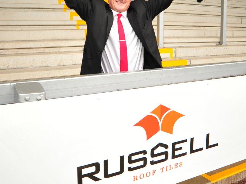 It's a hat-trick as Russells kicks off Burton Albion sponsorship