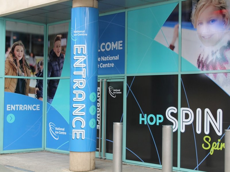 NOTTINGHAM'S NATIONAL ICE CENTRE GETS A REBRAND