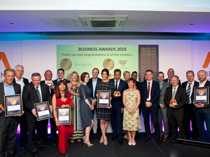 Five Life Science companies celebrate success at the Medilink East Midlands Business Awards