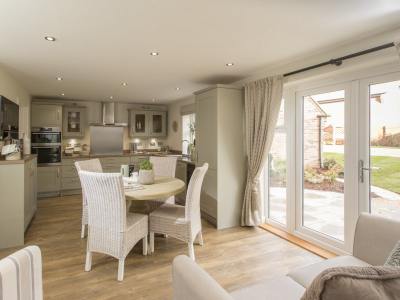 SALES CENTRES NOW OPEN FOR HOMEBUYERS AT TWO DERBYSHIRE DEVELOPMENTS