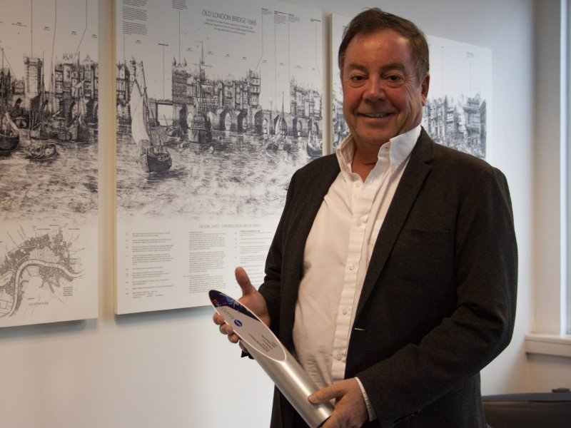 Richard Steer named Building's Personality of the Year