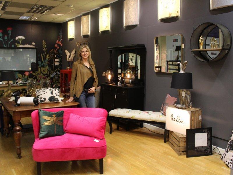 Upcycling interiors shop brings splash of colour into intu Broadmarsh