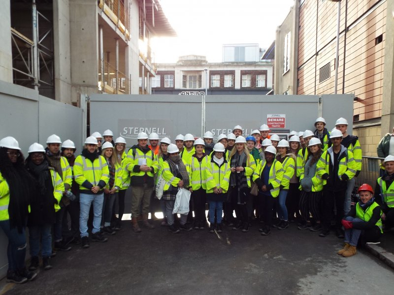 NEW £5.6M CONFETTI BUILDING CONSTRUCTION BRINGS  NOTTINGHAM TRENT STUDENTS' COURSE WORK TO LIFE