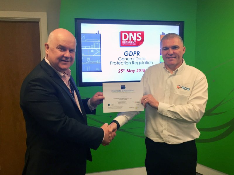 Document Network Services awarded Cyber Essentials accreditation