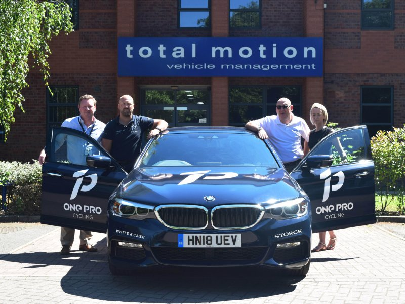 Total Motion named ONE Pro Cycling's official vehicle partner