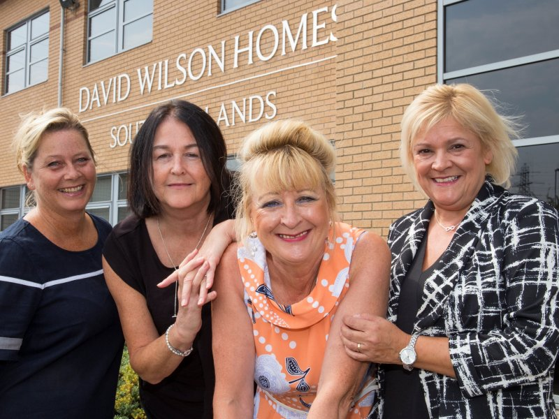 David Wilson Homes celebrates long service staff with combined loyalty of more than 110 years
