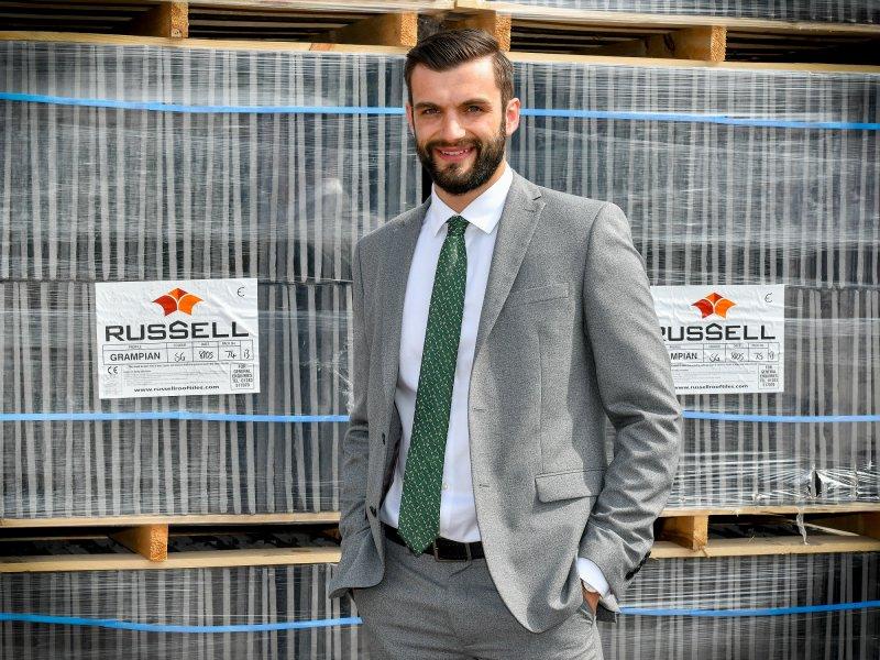 Russell helps Dan climb career ladder