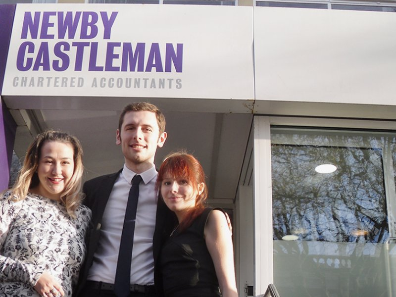 Newby Castleman trainees make exam results count