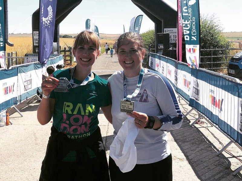 Manager of Nottingham's only Conductive Education centre leaves her footprint on 100km ultra-marathon!