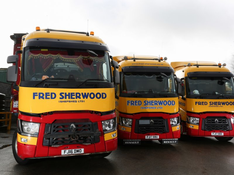Large fleet investment puts Fred Sherwood & Sons in the fast lane