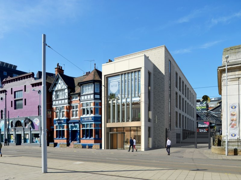 £6 MILLION NOTTINGHAM TRENT UNIVERSITY SCHEME STARTS ONSITE