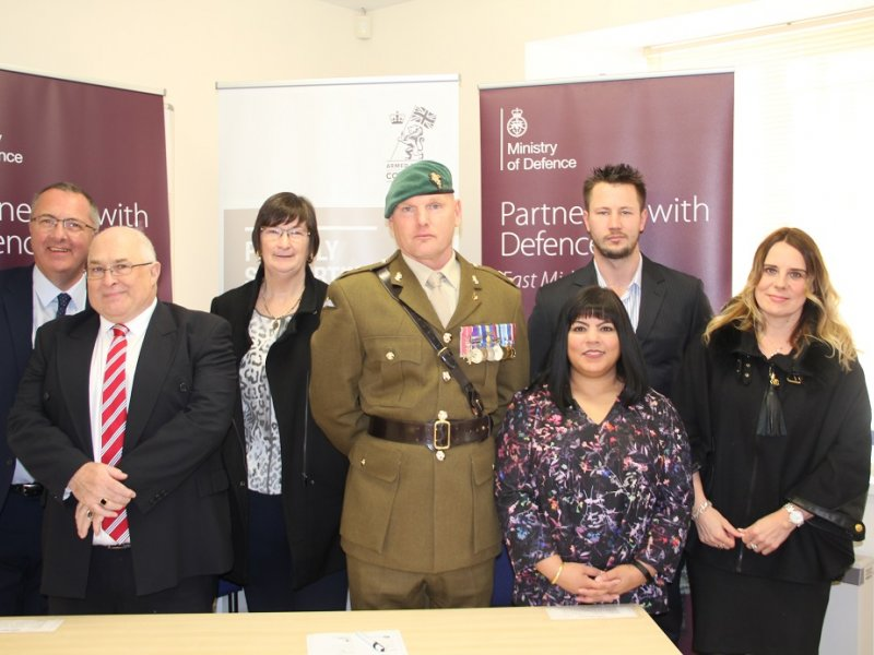 Northamptonshire Businesses Sign Armed Forces Covenant