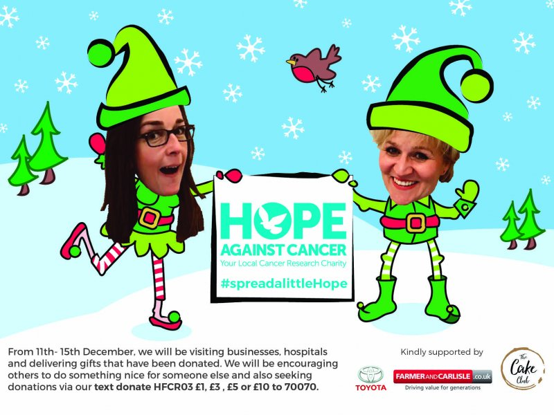 Spread A Little Hope This Christmas With Against Cancer