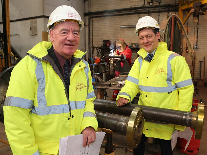 Engineering company's precision pipeline work is celebrated with record order win