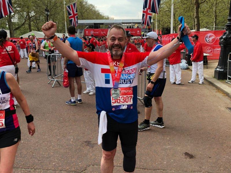Focus Consultants partner completes hottest London Marathon on record