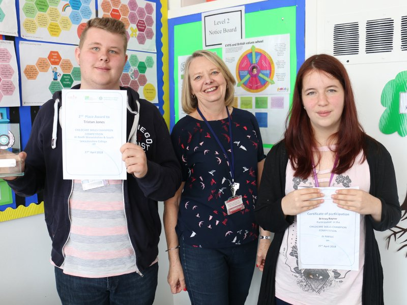 Childcare challenge brings success