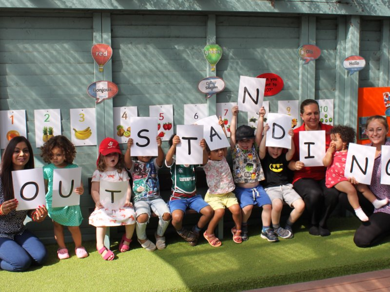 Leicester Nursery Judged to be 'Outstanding in All Areas'
