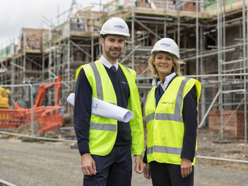 MILLER HOMES PLEDGES £274,500 TO DEVELOP LOCAL COMMUNITY