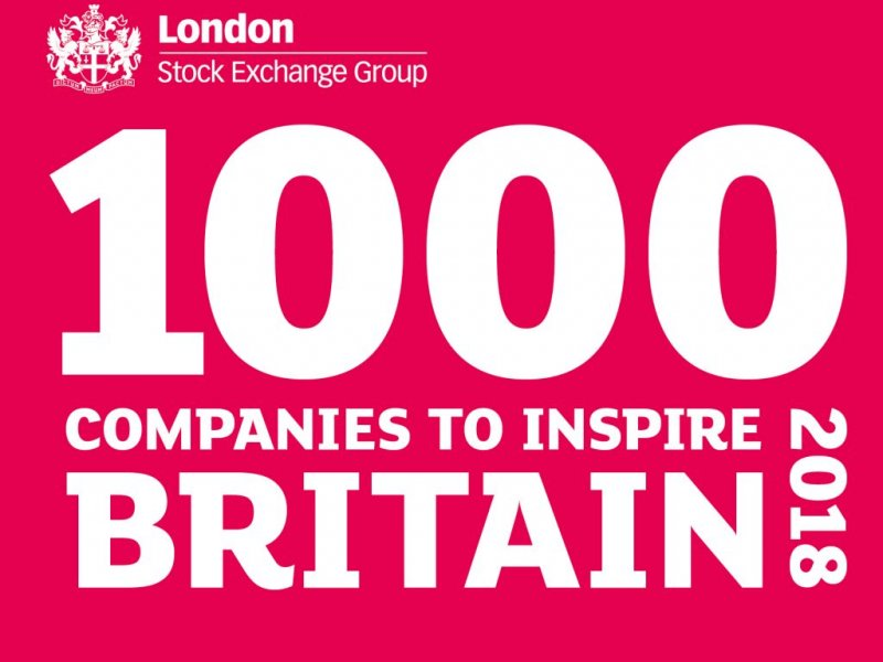 Total Motion named in London Stock Exchange Group's '1000 Companies To Inspire Britain' Report for the third year running