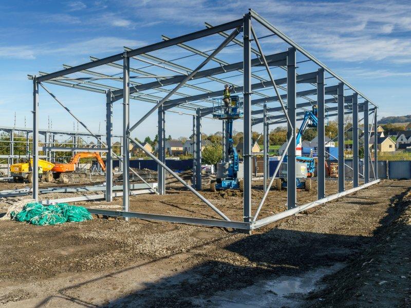 J Tomlinson builds nine commercial units on regeneration site