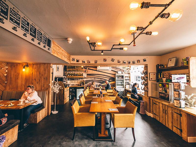 Derby restaurant oliver s shortlisted for national café
