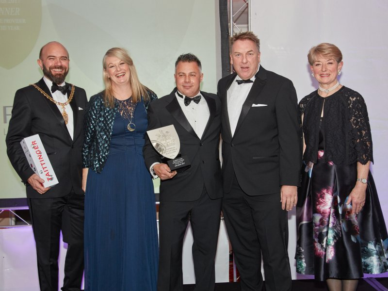 Parify scoop Service Provider of the Year at prestigious NAJ Awards!