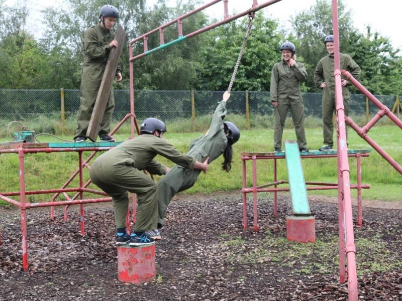 Employers exercise with the Army Reserve