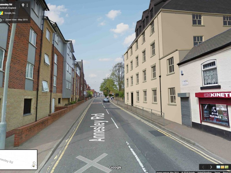 Architect plans to transform eyesore site of Romans ruins into new apartments
