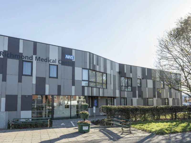 EQUITONE GIVES £2M LINCOLN MEDICAL CENTRE STRIKING NEW CONTEMPORARY LOOK