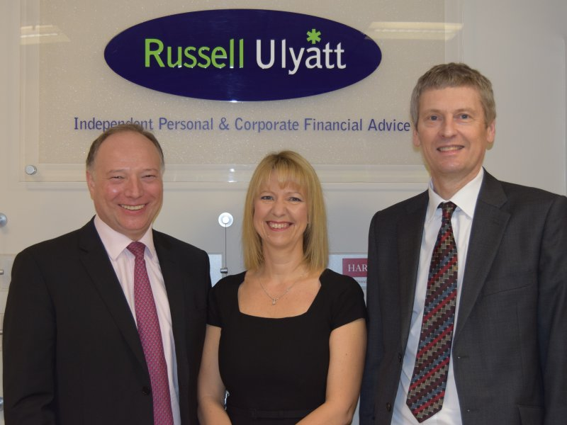 Two in a Row for Russell Ulyatt Financial Services