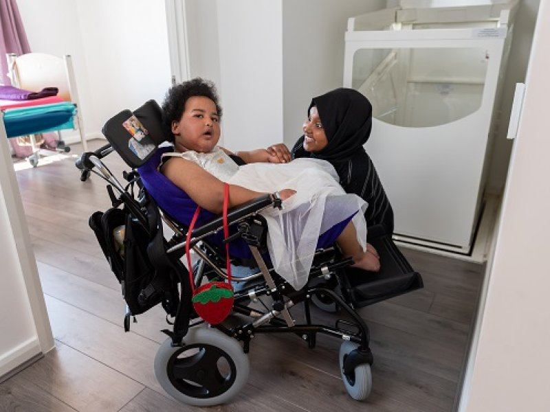 Adapted home changes family's life
