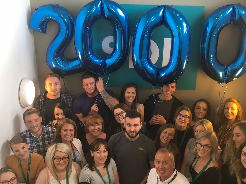 SDL Group celebrates its 2000th tenant