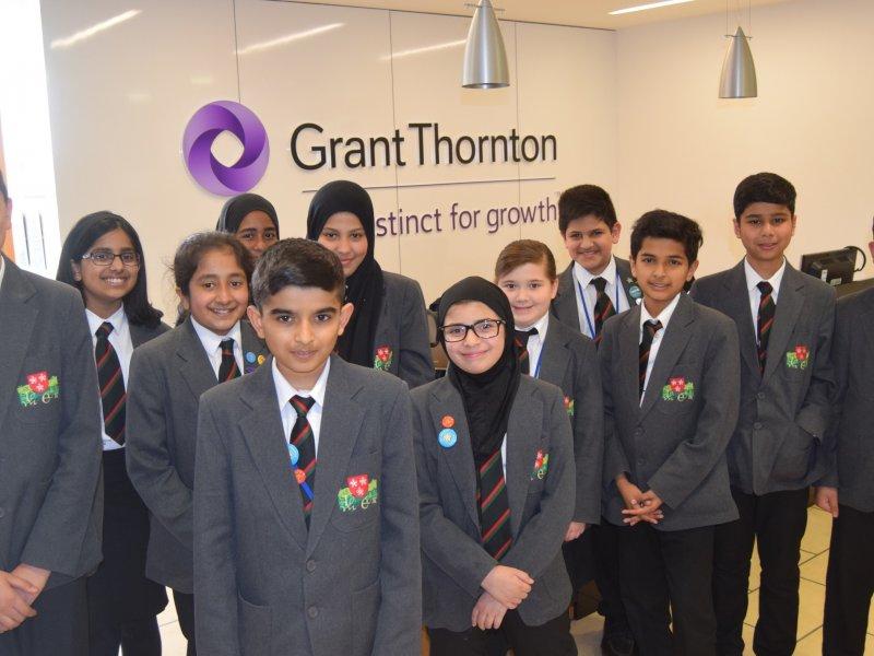 Grant Thornton Leicester backs city's next generation of entrepreneurs