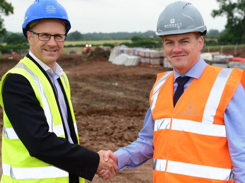 More than 550 jobs underpinned in Mickleover as new community is created