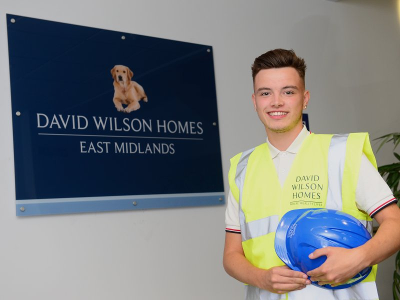 LOCAL HOMEBUILDER TAKES ON THREE NEW APPRENTICES IN LEICESTERSHIRE