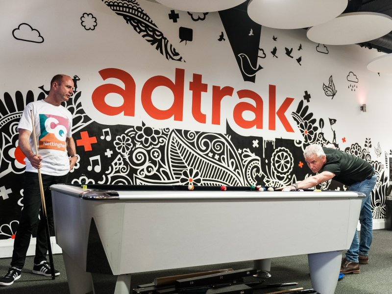 Adtrak Opens New Doors for Local Creatives with The Big House