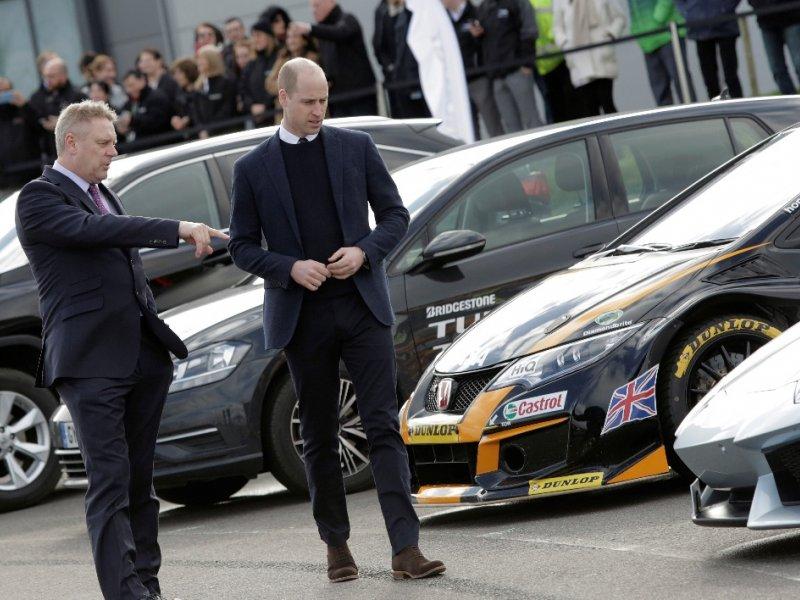 His Royal Highness The Duke of Cambridge Visits MIRA Technology Park