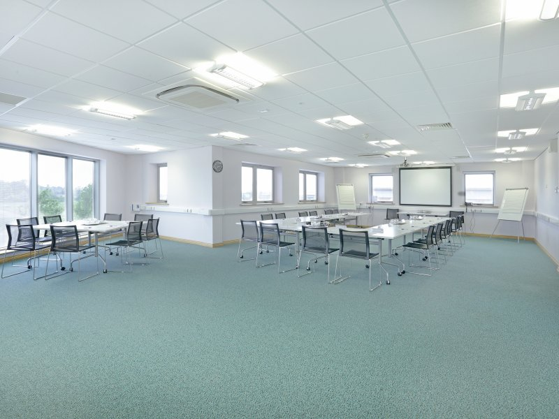 Relaunch of Harborough business centre meeting rooms
