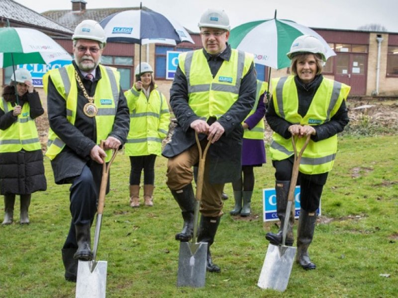 Clegg Construction has started work on a new £5.2m state-of-the-art teaching centre at girls' boarding school, Tudor Hall in Oxfordshire.
