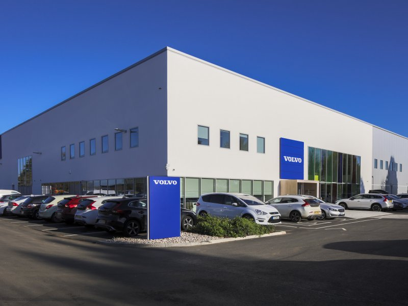J Tomlinson completes £6 million training hub for Volvo Car UK